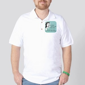 Free Food Glass Golf Shirt
