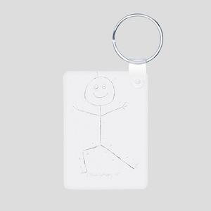 acupuncturewhtp Aluminum Photo Keychain