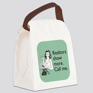 Show More Glass Canvas Lunch Bag