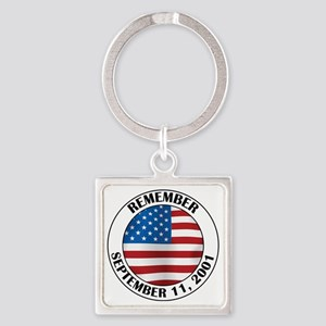 11 septB Square Keychain