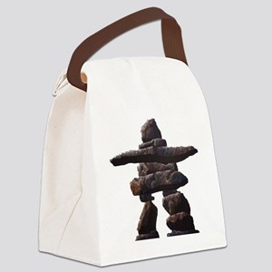 inukshuk real  Canvas Lunch Bag