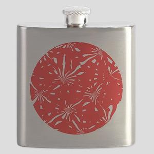 10x10_red_circle Flask