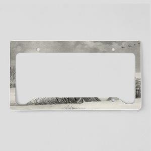 14.7x9.67_laptopSkin_winterRo License Plate Holder