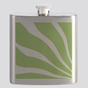 10x10_green_lines Flask