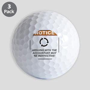 Accountant_Notice_Argue_RK2011_10x10 Golf Balls