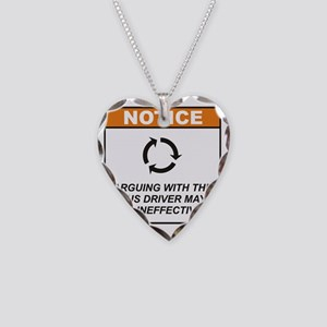 Bus_Driver_Notice_Argue_RK201 Necklace Heart Charm
