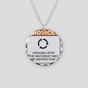 Machinist_Notice_Argue_RK201 Necklace Circle Charm