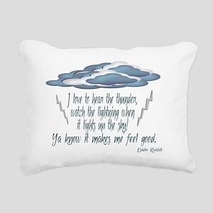 rainynight Rectangular Canvas Pillow