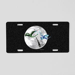 Dragon Moon Aluminum License Plate