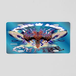 Dragon Empire Aluminum License Plate