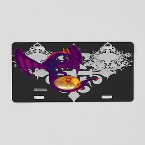 Dragon YinYang Aluminum License Plate