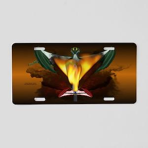 Dragon Smoking Sword License Plate