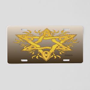 Dragon Scales License Plate