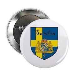 Sweden Flag Crest Shield 2.25