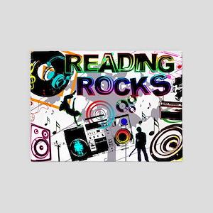 reading copy 5'x7'Area Rug