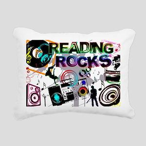 reading copy Rectangular Canvas Pillow