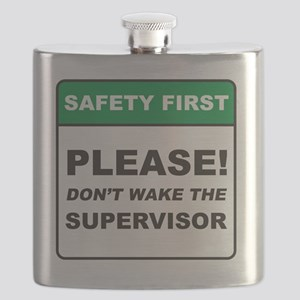 Supervisor_Dont_Wake_RK2011_10x10 Flask
