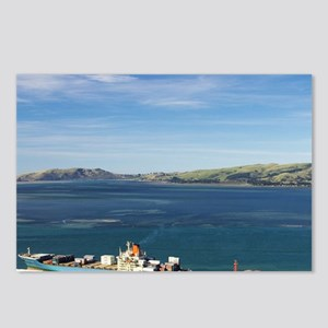 Container Terminal, Port  Postcards (Package of 8)