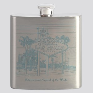 LasVegas_10x10_WelcomeSign_LghtBlue Flask