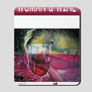 calendar-wine Mousepad