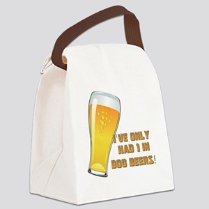 Dog Beers Canvas Lunch Bag