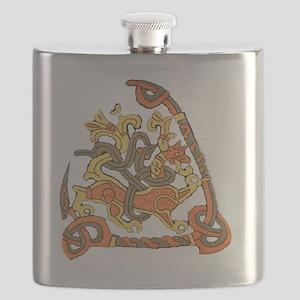 jelling rune stone Flask