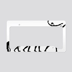 evolutionballet5 License Plate Holder