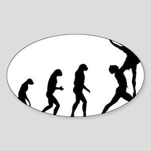evolutionballet5 Sticker (Oval)