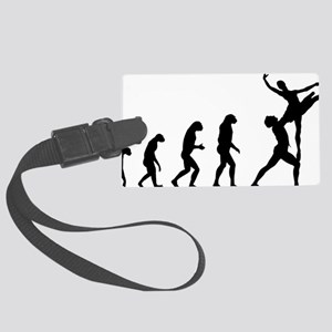 evolutionballet5 Large Luggage Tag