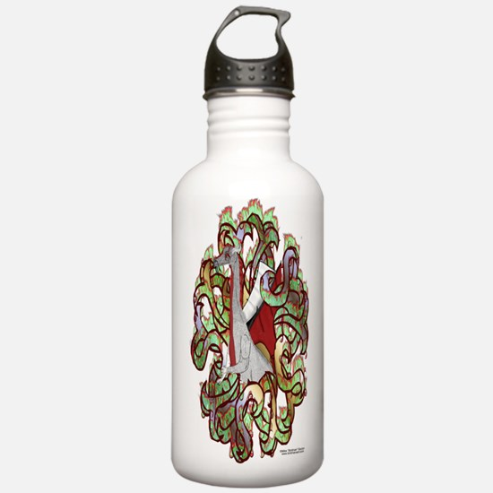 Dragon Camo Sports Water Bottle