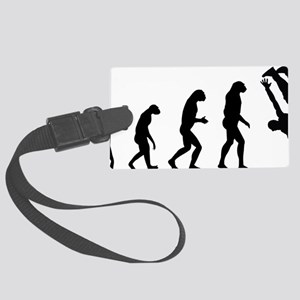 evolution breakdance Large Luggage Tag
