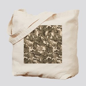 camo-tan Tote Bag
