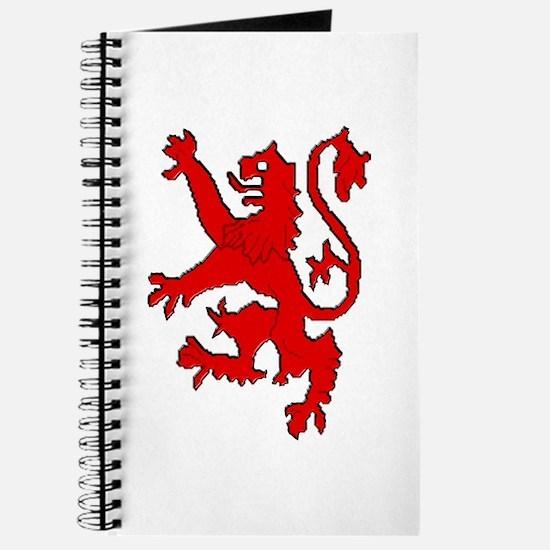 Scottish red lion rampant Journal