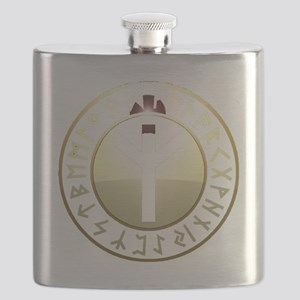Life Rune shield Flask
