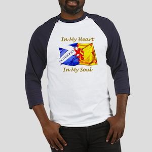 in my heart scotland darks Baseball Jersey