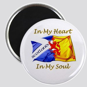 in my heart scotland darks Magnet