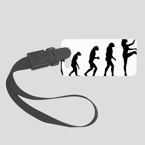 evolutionballet9 Small Luggage Tag