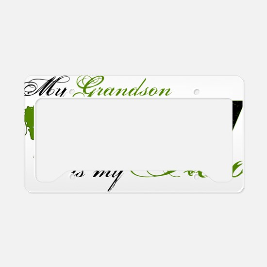 grandson License Plate Holder