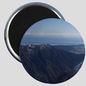 New Zealand - aerialnz Josef Glacier, West  Magnet