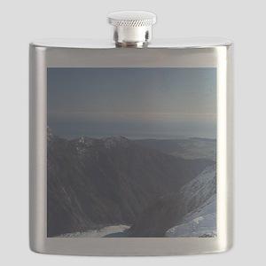 New Zealand - aerialnz Josef Glacier, West C Flask
