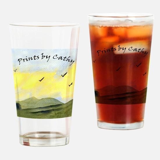 printsbycathy Drinking Glass