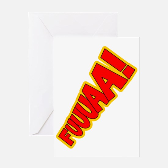 FUA_Wt Greeting Card