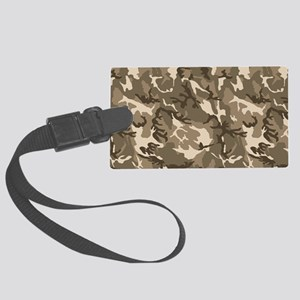 camo-tan_18x12-5 Large Luggage Tag