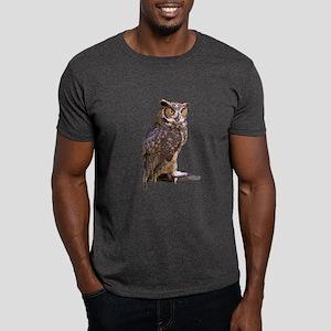Great Horned Owl Dark T-Shirt