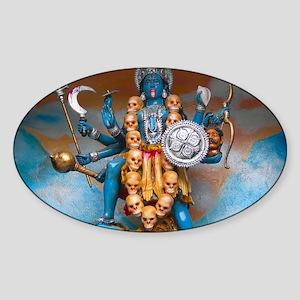 Kali Ma Sticker (Oval)