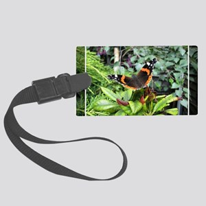 Red Admiral Large Luggage Tag