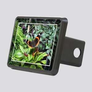 Red Admiral Rectangular Hitch Cover