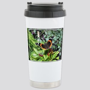 Red Admiral Stainless Steel Travel Mug