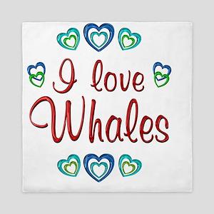 whales Queen Duvet