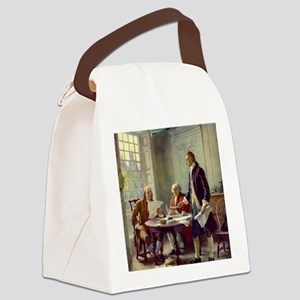 Signing_of_Declaration_of_Indepen Canvas Lunch Bag